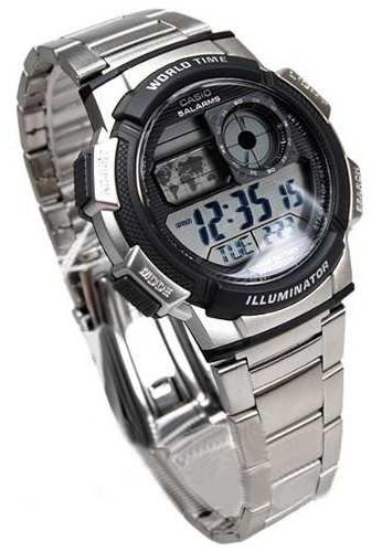 Reloj Casio Ae1000 Temporizador Cronografo Hora Mundial