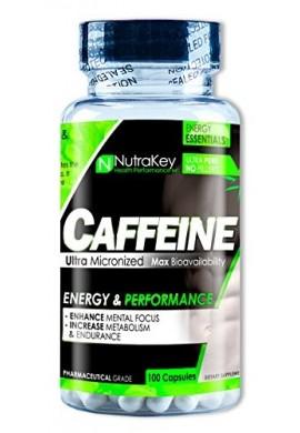Caffeine Nutrakey Supresor De Apetito