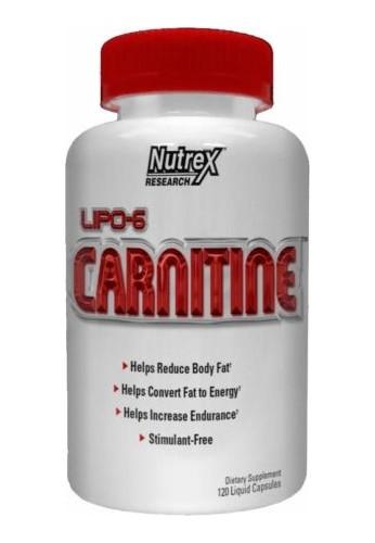 Lipo 6 Carnitina Suplemento Dietario.