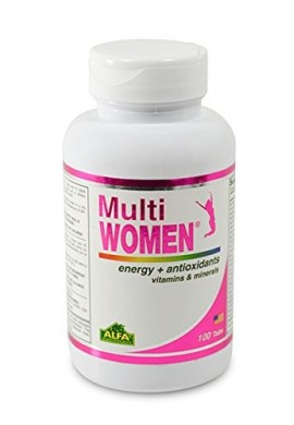 Multi Women Alfa Time Release 100 Tablets Vitaminas y minerales