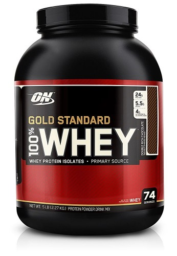 Optimum Nutrition Gold Standard 100% Whey Proteina Polvo 5lb