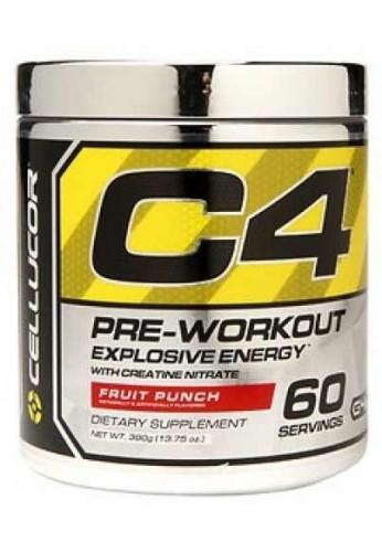 C4 Cellucor Pre Entrenamiento Nueva Formula 60 Srv