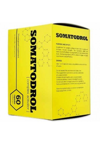 Somatodrol - Aumento Muscular Extremo / Testosterona Y Hgh