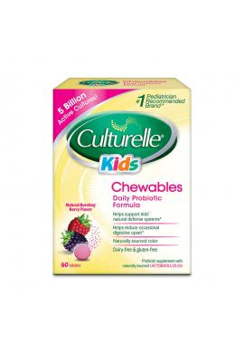 Culturelle Para Niños Probiotico 60 Tabletas Masticables