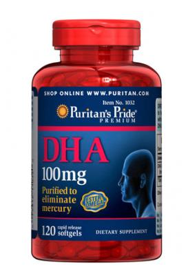 DHA, 100 mg