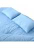 """Bolsa para dormir 2 Personas 86 """"x 60"""" / 2 almohadas Bolsa de dormir doble grande 23F / -5 ℃ Camping"""