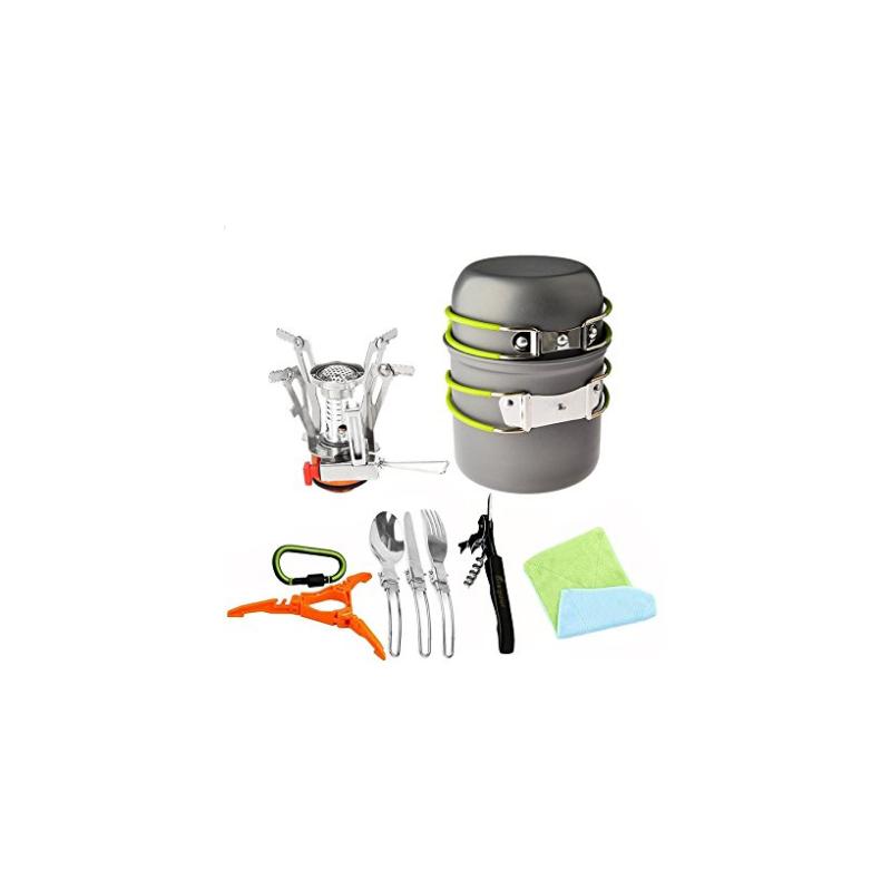 Juego de utensilios de cocina y estufa carabiner for Juego de utensilios de cocina
