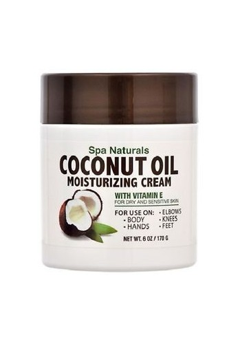 Coconut oil - Spa naturals Crema humectante con vitamina E