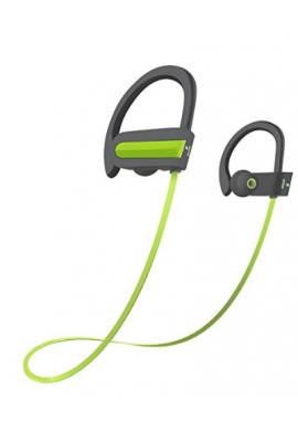 Auriculares Bluetooth, Otium® Deportes Almohadillas Para Sudor (Verde)