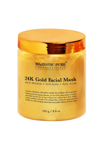 24 K Oro Máscara Facial de Majestic Pure, 8,8 oz