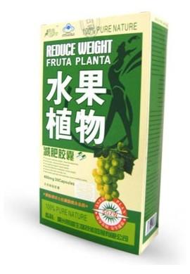 Fruta Planta 30 capsulas Quemador de Grasa