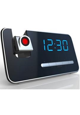 Reloj De Alarma De Proyección Con Radio Am / fm