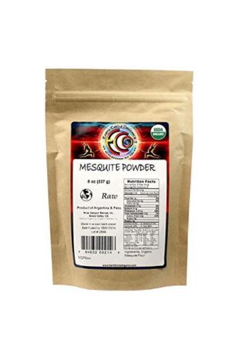 Earth Circle Organics Mesquite En Polvo, 8.OZ