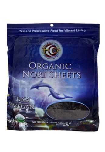 Earth Círculo Organics Hojas Nori Para Sushi 50 Und.