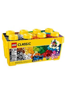 LEGO caja de ladrillos clásicos, medianos, creativos