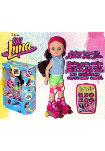 Muñeca Patinadora Soy Luna Musical Control Remoto