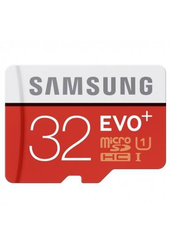 Tarjeta de memoria con adaptador de 32 GB microSDHC EVO Select Samsung