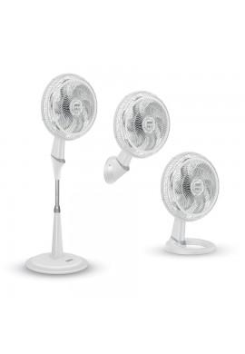 Ventilador Samurai Turbo Silence Maxx 3 En 1 Blanco