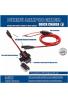 MOTOPOWER 0609A 3.1Amp Kit de cargador USB resistente al agua a adaptador USB