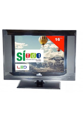 Televisor Huskee Tv 16 Pulgadas Con Tdt Nuevo