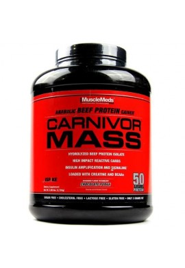 Carnivor Mass - 5.7 Lb - Musclemeds Proteina Para Subir Masa Muscular