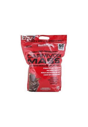 PROTEIN CARNIVOR MASS 10 LB BAG Anabolic Beef Protein Gainer