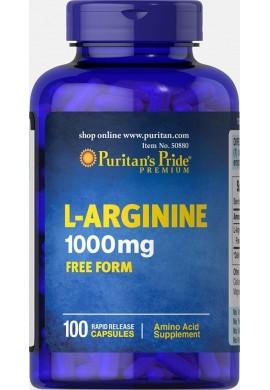 L-arginine 1000mg X100 Cápsulas Puritans Prid