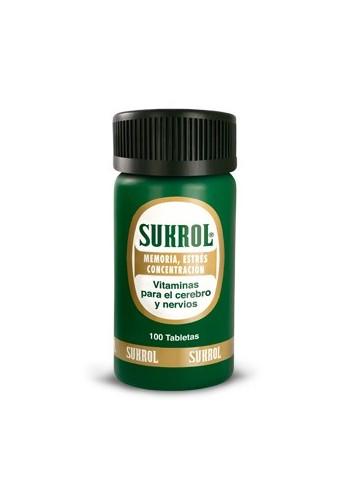 Sukrol Vitaminas para el Cerebro - 100 Tablets