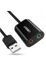 UGREEN Tarjeta de Sonido USB, Tarjeta de Sonido Externa