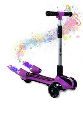 Patineta Scooter Niños Niña Manopatin Bluetooth Vapor Musica