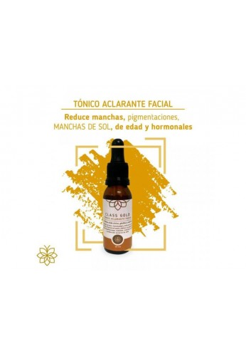 Tonico Aclarante Facial Class Gold Classgold Despigmenta Pecas Lunares y Manchas