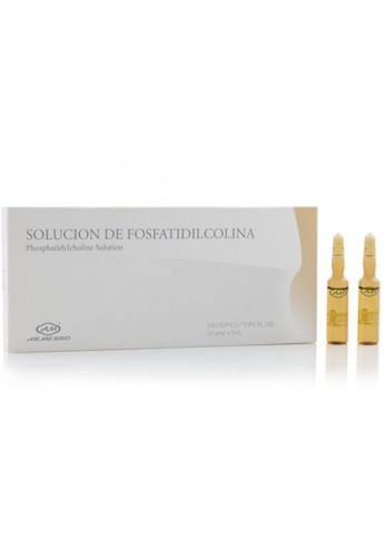 Solución de Fosfatidilcolina Caja x10 ampolletas de 5ml