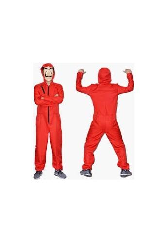 Disfraz Halloween Casa De Papel Adultos Y Niños