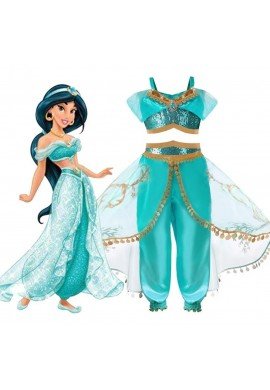 Princesa Jasmine Aladdin Disfraz Halloween