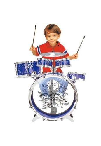 Batería Percusión Musical 5 Tambores Para Niños