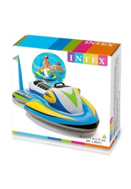 Yesky Flotador Acuático Inflable Moto Jet Ski Intex