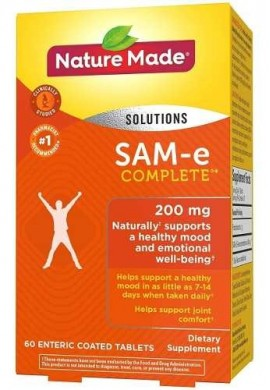 Made Sam-e Complete 200 Mg - 60 Tablets