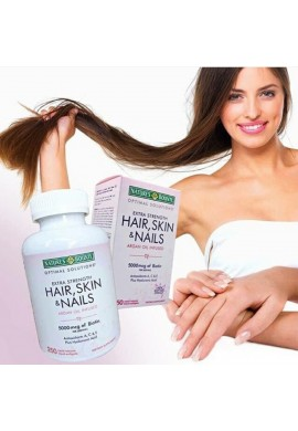 Hair Skin And Nails 250 Cápsulas Natures Bounty