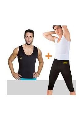 Combo Thermo Shapers Para Hombre: Pantalón + Camisilla
