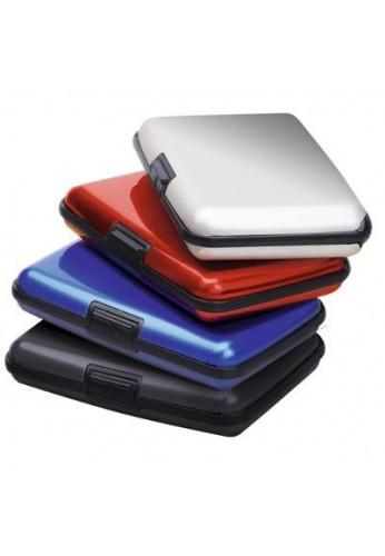 Billetera Mega Wallet En Aluminio, Protege Tarjetas Y Docs