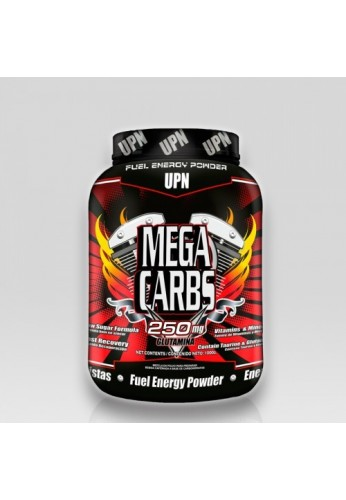 Mega Carbs 250 mgs Glutamina